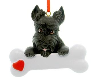 Scottie Personalized Christmas Ornament, Scottie , Ornament,Personalized, Scottie Ornament, Personalized Ornament