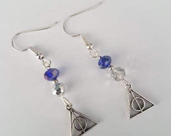Harry Potter deathly hallows Ravenclaw Earrings
