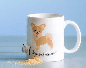 Chihuahua Mug (longhaired - boy)