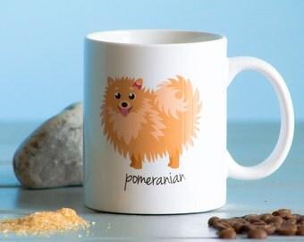 Pomeranian Mug (girl)
