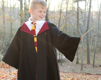 Harry Potter Inspired Costume - Child Harry Potter Robe - Harry Potter Cape
