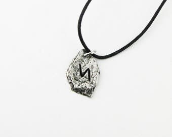 Sowilo Viking Rune Letter S Runic Pendant