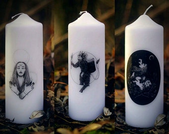 Art Candles - Veleda, Krampus or Gryla