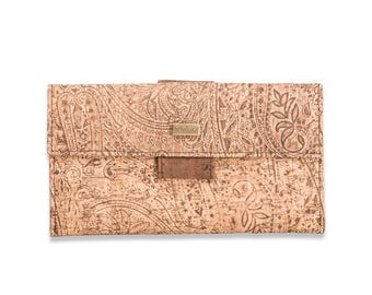 Purse, wallet made of Cork for ladies