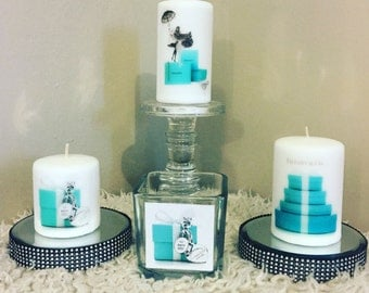 Fashion candles & vase set