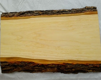 Live edge Hickory Cheese Board