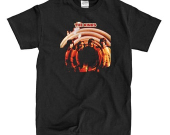 The Kinks - Are The Preservation Green Society - Black T-shirt