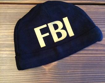 FBI Baby Hat, FBI Agent Hat, police shirt