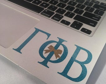 Gamma Phi Beta Decal with a Bow