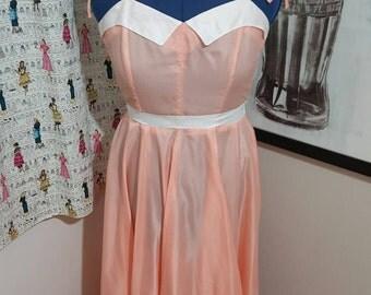 Vintage Peachy Keen Jellybean Dress Size M