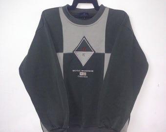 Vintage NICOL MORRISON Collection Sweatshirt Crewneck Spellout