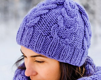 Chunky knit hat | Custom colours | Knit Beanie | Winter Hat | Autumn Hat