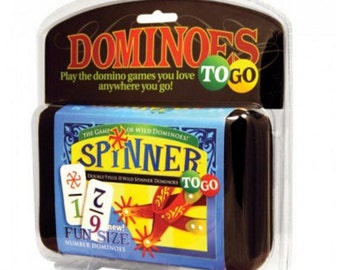 Spinner Dominoes To Go Domino Set