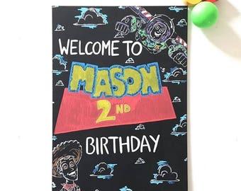 Birthday signs A3