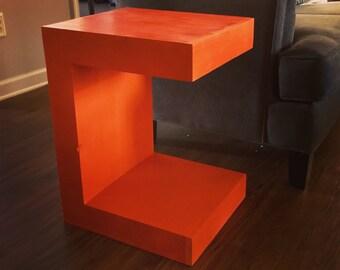 Modern Nightstand (C Table)