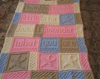 Afghan Twinkle Twinkle Little Star Blanket