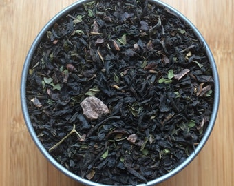 Mint Chocolate Loose Leaf Tea & Hand Filled Tea Bags