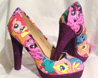 My Little Pony shoes / heels* * * uk sizes 3-8 * * *
