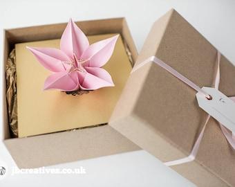 Origami Boxed Wedding Invitations