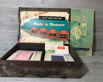 W. D. Smith and Co. Fashions Salesman Sample Case