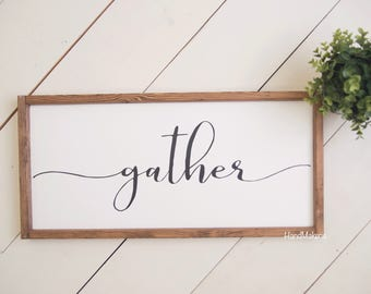 GATHER | Painted Frame