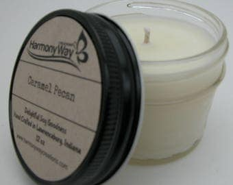 Soy Candle, Jelly Jar 4 oz