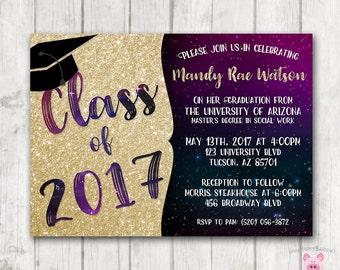 abschlussfeier einladungen high school graduation party, Einladungen