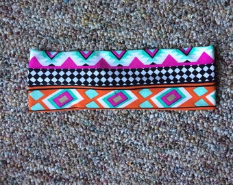 multicolor stretchy headband
