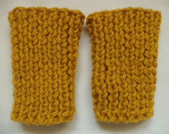 Cuffs Calf warmer merino wool baby knitted
