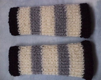 Leg warmers Wadenwärmer wool knit