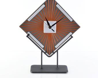 Sunburst clock | Etsy