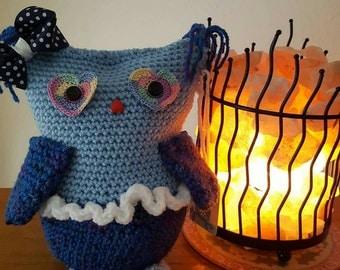Crochet owl,my name is jellybeans.