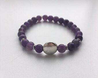 Moonlight silver bracelet