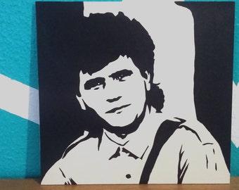 Daniel balavoine stencil painting