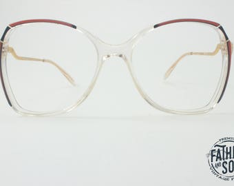 Bug \ vintage 80s eyeglasses \ never worn
