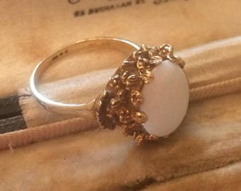Victorian Ring, Opal Ring, Gold and Opal Vintage Ring, Opal Victorian Ring, Opal Ring, Antique Opal Ring, Vintage Ring, Victorian Jewellery