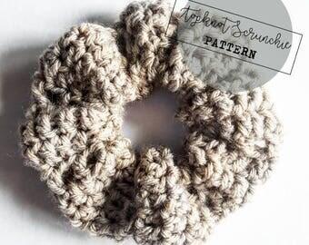 Topknot Scrunchie Crochet Pattern