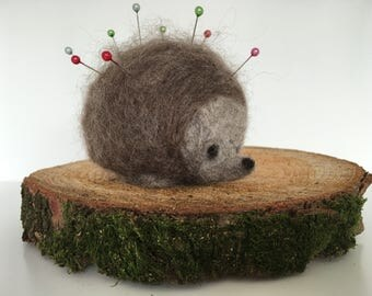 Needle Felt Hedgehog Pin Cushion Starter Kit