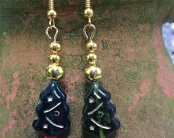 Xmas Tree Earrings