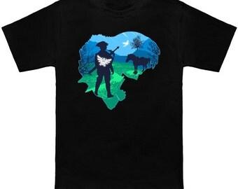 LEGENDARY Legend of Zelda Link Geek T-Shirt Funny Nerd Pop Culture Nintendo Switch Nes Shirt