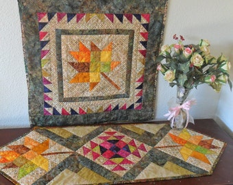 Pattern: Table Runner & Topper or Wall Quilt