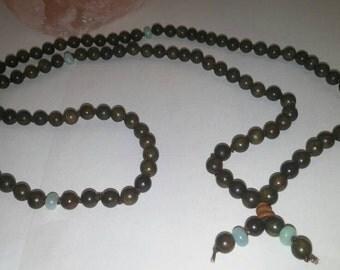 Mala Beads - 108 Mala Beads - Meditation Jewelry - Yoga Prayer Beads - Thoughtful gift!