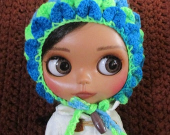Hand crocheted Blythe Pixie Gnome Hat