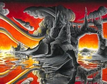 Scarlet Skies Prints