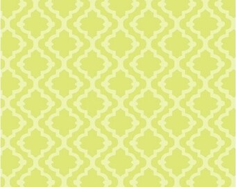"Windham Fabrics, Tiles (lime) ""Meet the Royal Court"" by Jill McDonald"