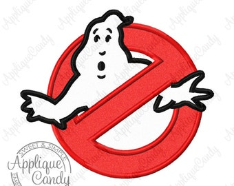 Ghost Catcher Applique Machine Embroidery Design 4x4 5x7 6x10 8x8 Halloween INSTANT DOWNLOAD