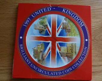 1997 uncirculated coin collection