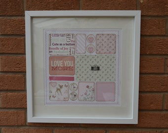 Large Scrapbook Frame - add your own photo