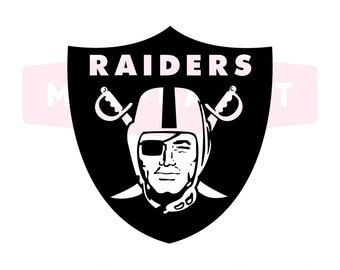 Oakland Raiders Cut Files, Oakland Raiders SVG Files, Oakland Raiders SVG Cutting Files, Oakland Raiders Cuttable SVG File, Instant Download