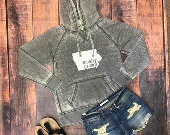 Locally grown hoodie